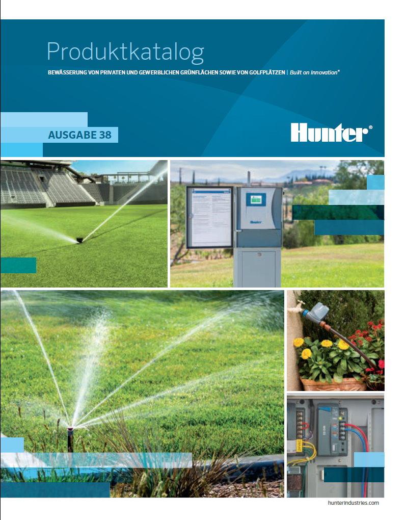 Hunter Katalog 2020 / 2021 Bewässerung Produktkatalog