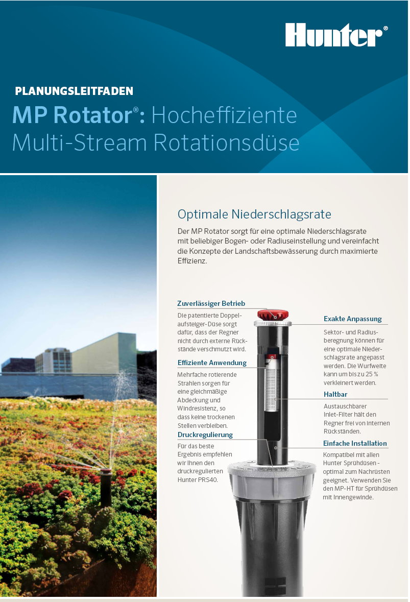 MP ROTATOR Planungsleitfaden Hunter