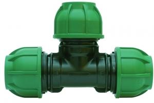PE-Klemmverbinder T-Stück 25 x 25 x 25 mm