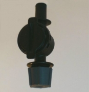 F.L.F Single Fogger 5 l/h inkl. Tropfenstop Steckanschluss 6mm