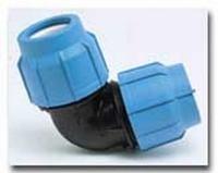 PE-Klemmverbinder Winkel 90° 63 x 63 mm