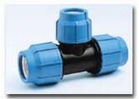 PE-Klemmverbinder T-Stück reduziert 63 x 50 x 63 mm