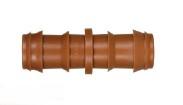 Steckverbinder für Tropfrohre, gerade 16 x 16 mm