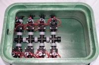 Vormontierte Hunter Ventilstation mit 12 Hunter Magnetventilen