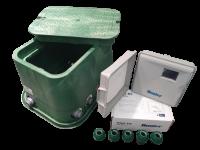 Automatische Steuerung für die Rasenbewässerung für 4 Beregnungskreise