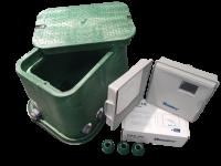 Automatische Steuerung für die Rasenbewässerung für 2 Beregnungskreise