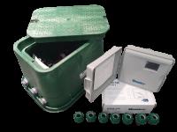 Automatische Steuerung für die Rasenbewässerung für 6 Beregnungskreise