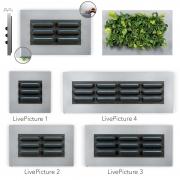Mobilane LivePicture 4 192x72x7 cm ohne Pflanzen