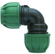 PE-Klemmverbinder Winkel 90° 32 x 32 mm