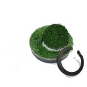 Hunter Kunstrasenabdeckung Grün 2-teilig für G990/995