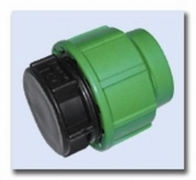 PE-Klemmverbinder Endkappe 75 mm