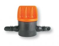 Ventil für Mikroleitungen beidseits Steckanschluss 4 mm