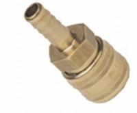 Einhandschnellkupplung mit Schlauchanschluß 6mm